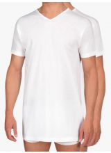 Alan Red 2-pack T-shirts Vermont Long Fit Thin V-Neck