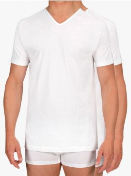 Alan Red 2-pack T-shirts Vermont Regular Fit Thin V-Neck