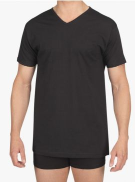 Alan Red T-shirt Vermont Regular Fit Thin V-Neck